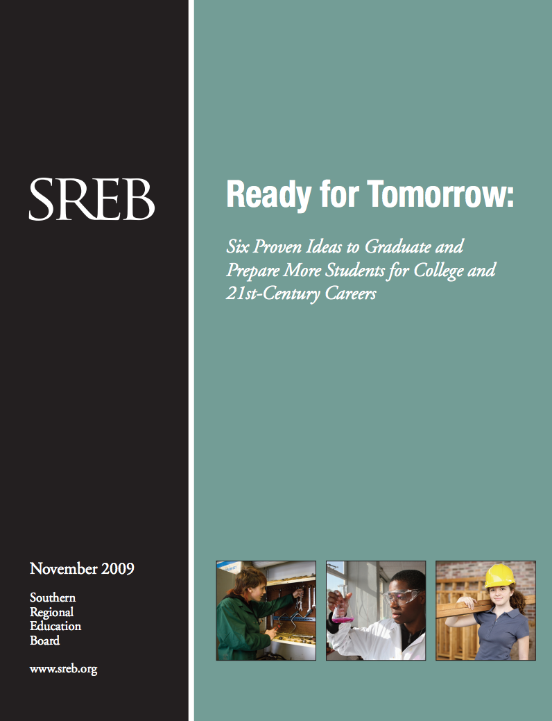 ready for tomorrow six proven ideas to graduate and prepare more more students can be prepared for postsecondary opportunities college advanced career training or both when schools combine rigorous academics