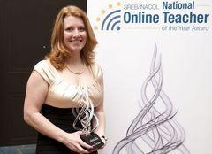 Award winner Leslie Fetzer of Holly Springs, North Carolina
