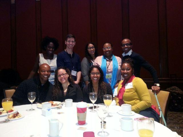 Mr. Jackson and other Louisiana scholars attending the 2014 Institute on Teaching and Mentoring