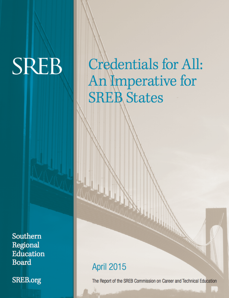 Image of Credentials for All: An Imperative for SREB States