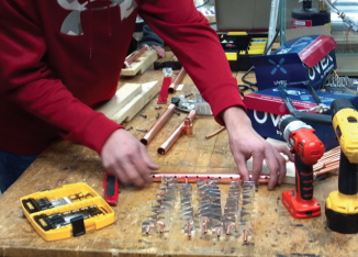 BUILD: Working on heat exchanger