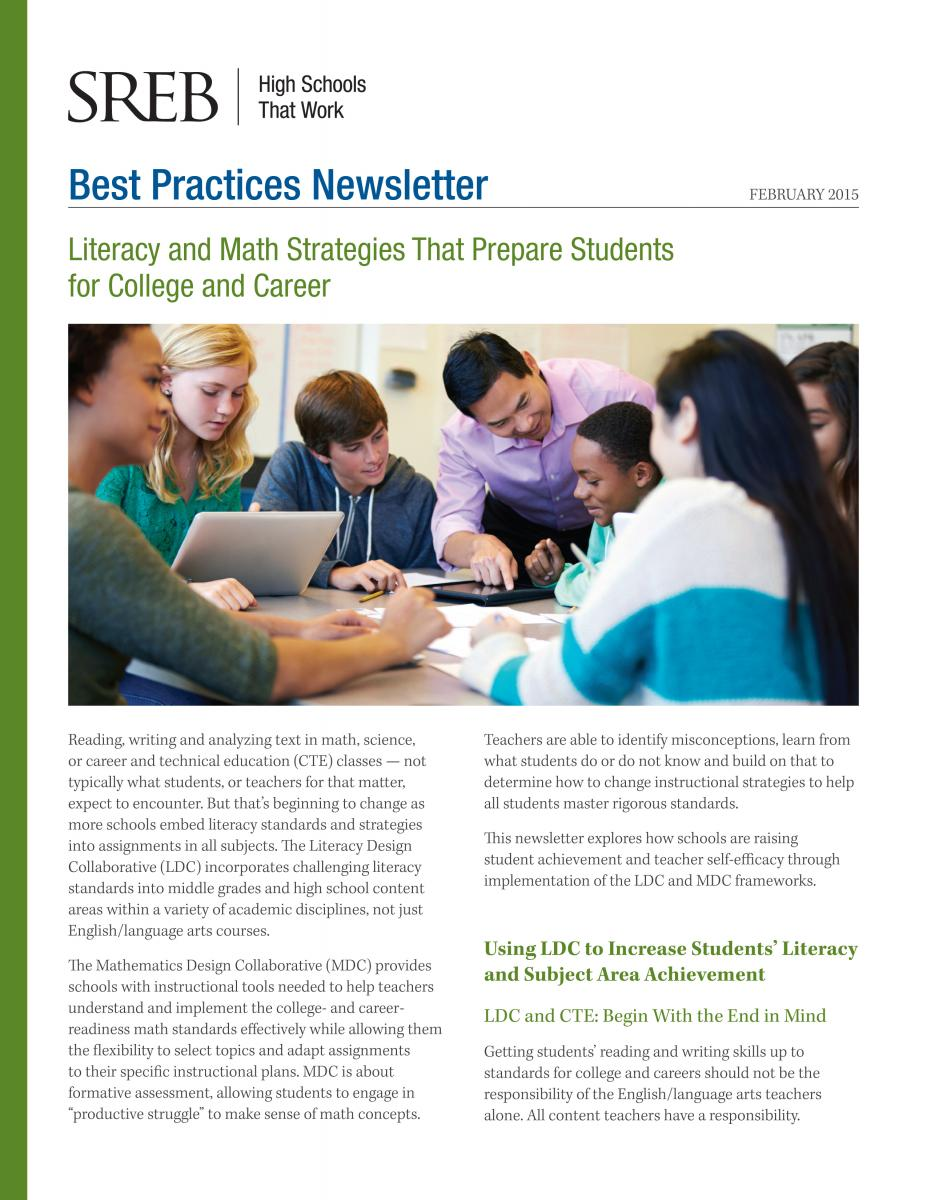 Literacy And Math Strategies That Prepare Students For College And