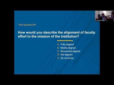 Aligning Faculty Effort to Institutional Mission