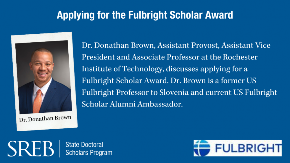 Applying for the Fulbright Scholar Award