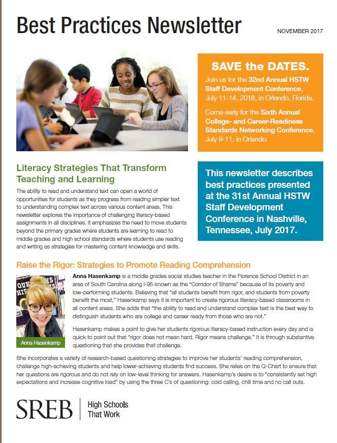 Literacy Strategies That Transform Teaching And Learning Southern