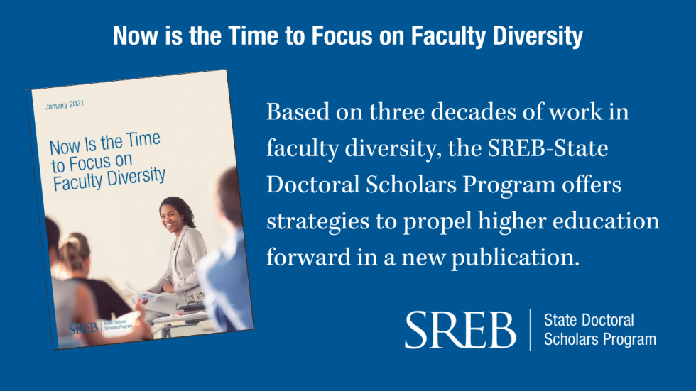 Now is the Time to Focus on Faculty Diversity graphic