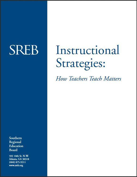 Instructional Strategies Southern Regional Education Board