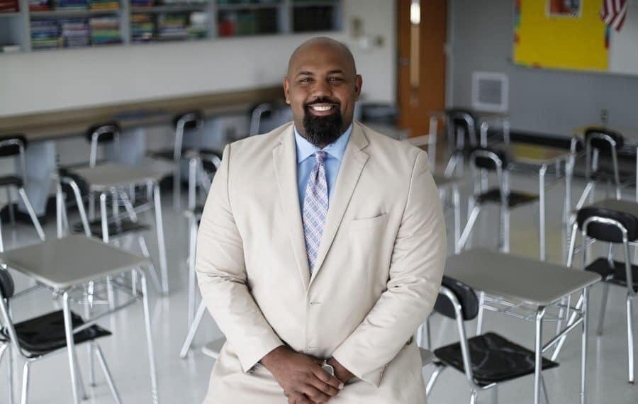 Photo of Marck Abraham, Principal, McKinley Vocational High School, Buffalo, NY