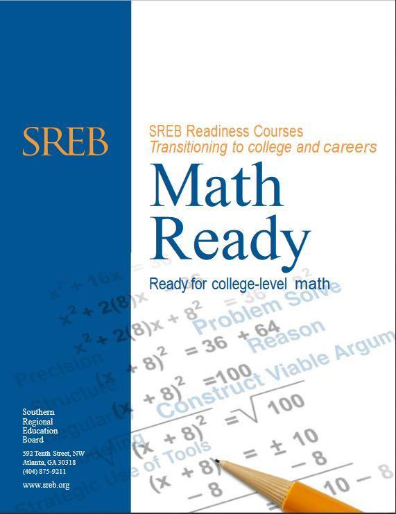 Math Ready - Southern Regional Education Board