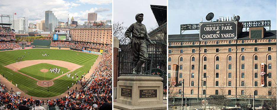 Baltimore's Oriole Park at Camden Yards