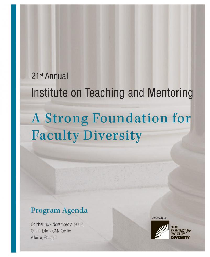 Agenda St Annual Institute On Teaching And Mentoring  Southern