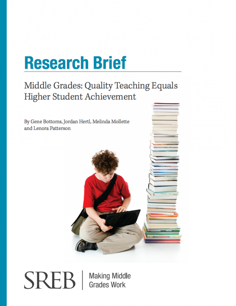 Education Research Highlights From 2015 >> Middle Grades Quality Teaching Equals Higher Student