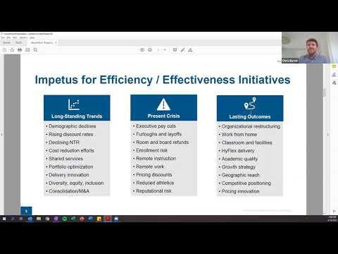 Administrative Efficiencies Enhance the Mission