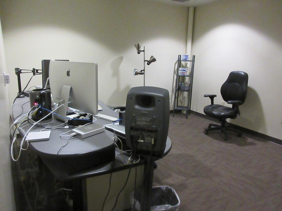 A WYES production space