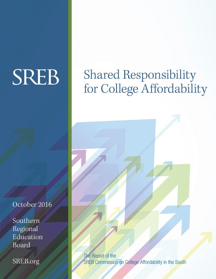 Affordability report cover