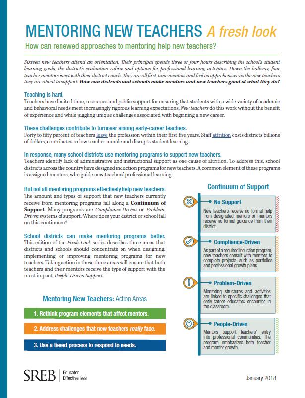 Topic Educator Effectiveness Southern Regional Education Board