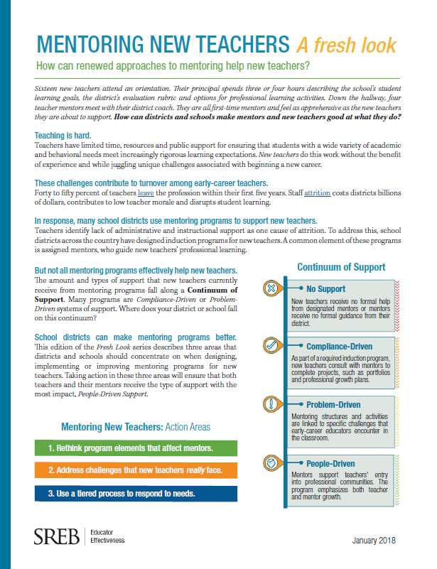 Topic: Educator Effectiveness - Southern Regional Education Board