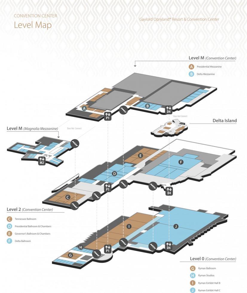 Convention Center Maps