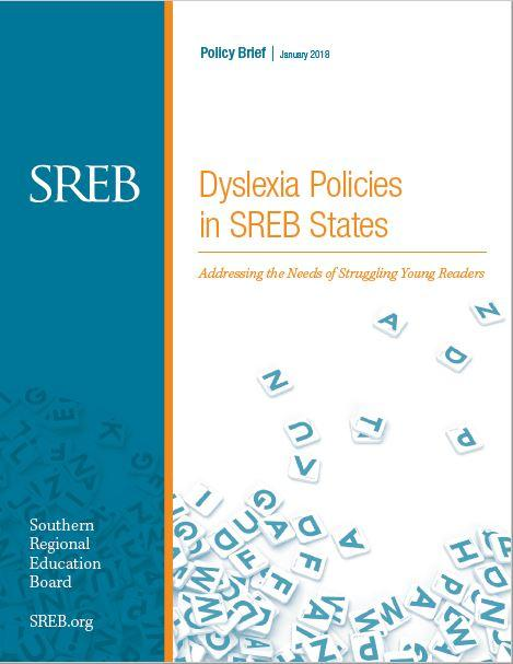 Dyslexia Policies in SREB States