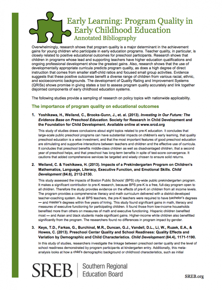 teaching learning annotated bibliography Active learning & pedagogy annotated bibliography - part 1 - resources offered by the center for faculty development at union university.